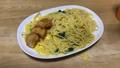 冷凍食品パスタとレンチンからあげ。カルボナーラを食べる。雑な食事。平凡でリアルな庶民の食生活 67934101