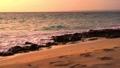 栗马岛的美丽日落风景 68008595