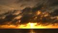 美好的日落在冲绳岛 68115691