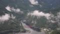 翠波高原から見る金砂湖と平野橋 68278978