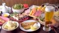 japanese izakaya styke restaurant food with beer 68358499