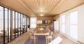 Scene multi function room ideas, japanese room interior design.3D rendering 68447089