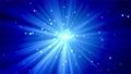藍色粒子和濃度線的背景/循環 68659449