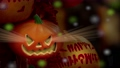 萬聖節,南瓜飾品,ハロウィーン、カボチャの装飾品、Halloween, greeting card 68796405