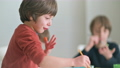 Kid Painting at Kindergarten 68984626