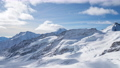 Time lapse of snow mountain at Jungfrau in Switzerland. 68993521
