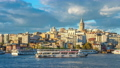 Istanbul city skyline with view of Galata Tower. 68993523
