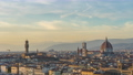 Time lapse of Florence city skyline with view of Duomo in Tuscany, Italy. 68993524
