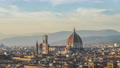 Duomo of Florence with sunset in Tuscany, Italy. 68993525