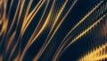 Carbon wave gold soft background loop 69175501