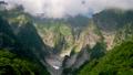 谷川岳一の倉沢と湧き立つ雲のタイムラプス映像 69254543