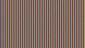 ソフトのレイヤーとタイムラインで作成した縦線のノイズ映像。虹色で波形の縦線が右に流れる。 69256514
