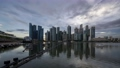 [Time Lapse] Singapore Skyscrapers / Magic Hour Time Lapse 69396892