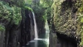 空撮_高千穂峡「真名井の滝」トラックダウン 69441293