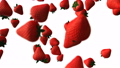 Strawberry abstract animation 69455494