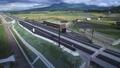 熊本地震から4年後の2020年10月3日開通予定の北復旧ルート、北側復旧ルートと二重峠トンネル 69529080