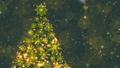 クリスマスツリーのキラキラ輝くループ素材 69888110