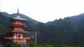 和歌山県 那智山青岸渡寺の三重の塔と那智の滝 70082561