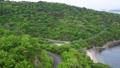 香川県さぬき市志度 大串半島 海釣り公園をドローン空撮② 70093073