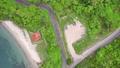香川県さぬき市志度 大串半島 海釣り公園をドローン空撮① 70093074