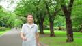 Smile of senior man walking 70203955