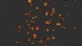 ハロウィン 月 かぼちゃ CG アルファチャンネル 70207214