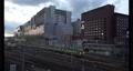 JR京都駅夕暮れの風景 70333455