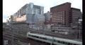 JR京都駅夕暮れの風景 70333491