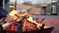 篝火,露营和咖啡 70363271