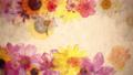 要繪製的花朵_水平運動循環_日本紙紋理 70366938
