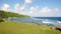 요나 구니 절벽과 해안선의 공중 촬영 2 70406452