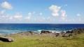 요나 구니 절벽과 해안선의 공중 촬영 4 70406454