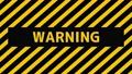 危険・警報・警告を促す動画 70447337