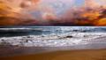 morning sea coast background dawn 70459259