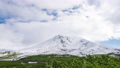 Snow-capped mountains and natural scenery Time-lapse zoom out 70556911