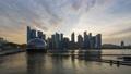 [4K Time Lapse] Singapore Skyscraper / Magic Hour Time Lapse 70562061