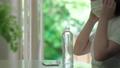 Girl living mask infection prevention 70622380