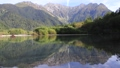 Superb view! Japanese Alps seen from Taisho Pond 70660603