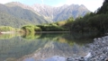 Superb view! Japanese Alps seen from Taisho Pond 70660604