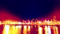 4K night seaport. timelapse. 70825800