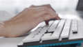 Female hands typing on computer keyboard 71014751