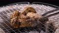 七輪で焼いた焼き松茸【秋の味覚】 71062751