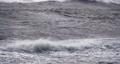 4K - Huge waves of the atlantic ocean close-up 71244171