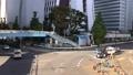 新宿新都心歩道橋から見た青梅街道のタイムラプス映像 71244206