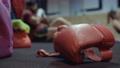 cardio box workout group indoors 71509170