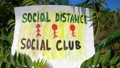 Social Distance Social Club! Keep your distance in public places! 71624844