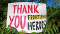 Thank You Frontline Workers - Acknowledgment - Nature Banner 71624846