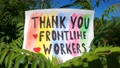 Thank you essential workers - words of gratitude  71630791
