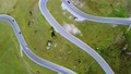 Drone aerial view of Austrian Grossglockner high Alpine road 71634580