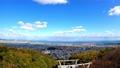 秋の徳島県徳島市街並み(眉山公園から2020年11月撮影) 71645126